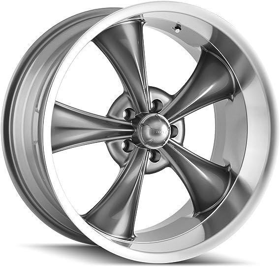 "0mm Matte Black Wheel Rim 17/"" Inch Ridler 695 17x7 5x4.5/"""
