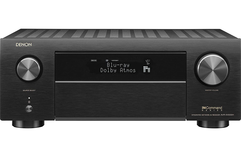 Denon AVRX4500H Denon 9.2 Channel 4K AV Receiver with 3D Audio and Alexa Voice Control, Black