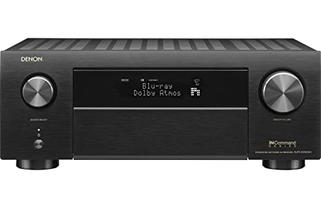 Denon AVR-X4500H Receiver 8 HDMI in /3 Out, High Power 9 2 Channel  Amplifier (125 W/Ch) | Home Theater | Dolby Surround Sound, Music Streaming  with