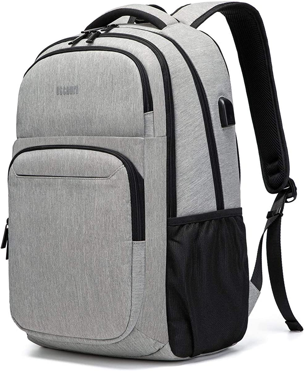 Travel Laptop Backpack, Business College School Bookbag,Slim Water Resistent Fit 15.6 Inches Laptop USB Charging Port