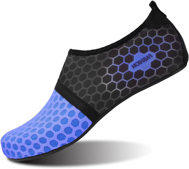 L-RUN Scarpe Acqua Unisex Scarpe a Pelle a Piedi Nudi per la Corsa Dive Surf Swim Beach Yoga