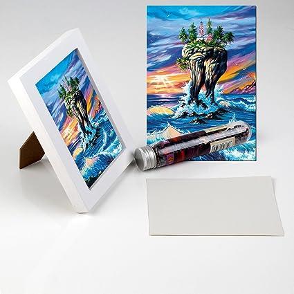 Amazon.com: Ingooood Mini Jigsaw Puzzles With Wooden Frame 150 ...