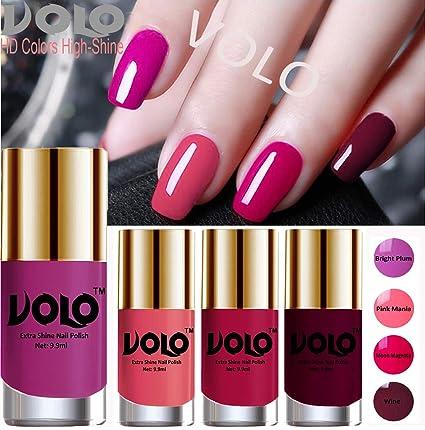Buy Volo HD Colors High-Shine Long Lasting Non Toxic Professional ...