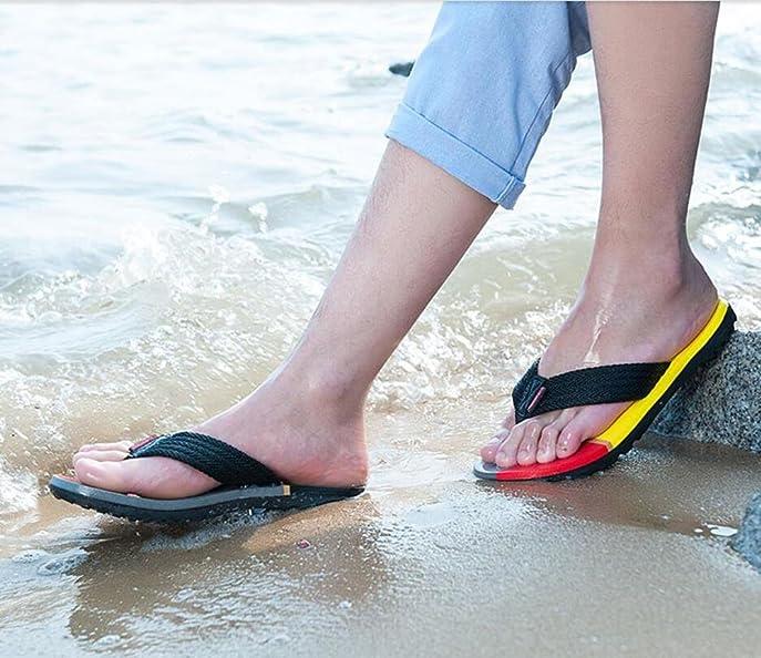 Verano nuevo par modelos sandalias resbaladizas playa flip flops sandalias de ocio , 2 , 44