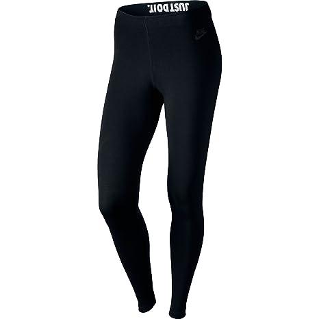 Nike Womens Leg-A-See JDI Leggings Black/Black 726085-011 Size
