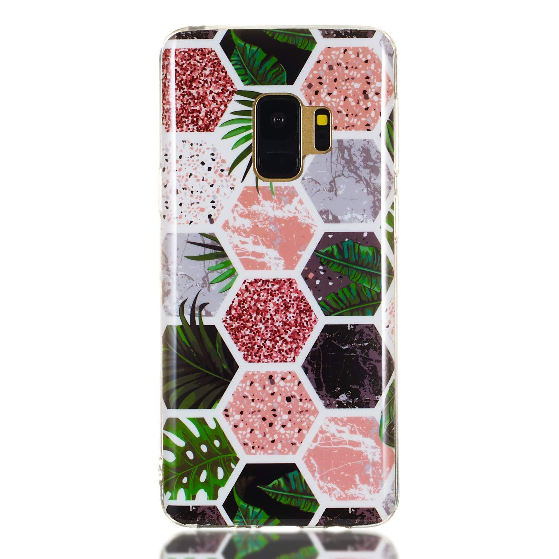 Housse Antichoc Anti-Rayures /Étui Coque de Protection Souple Gel Case pour Samsung Galaxy S9 LOYHU260514 L4 Lomogo Coque Galaxy S9 Silicone