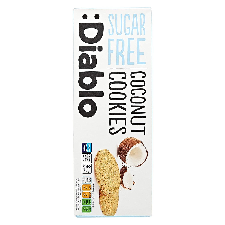 Diablo Coconut Cookies Sugar Free 150g Amazon In Grocery Gourmet Foods