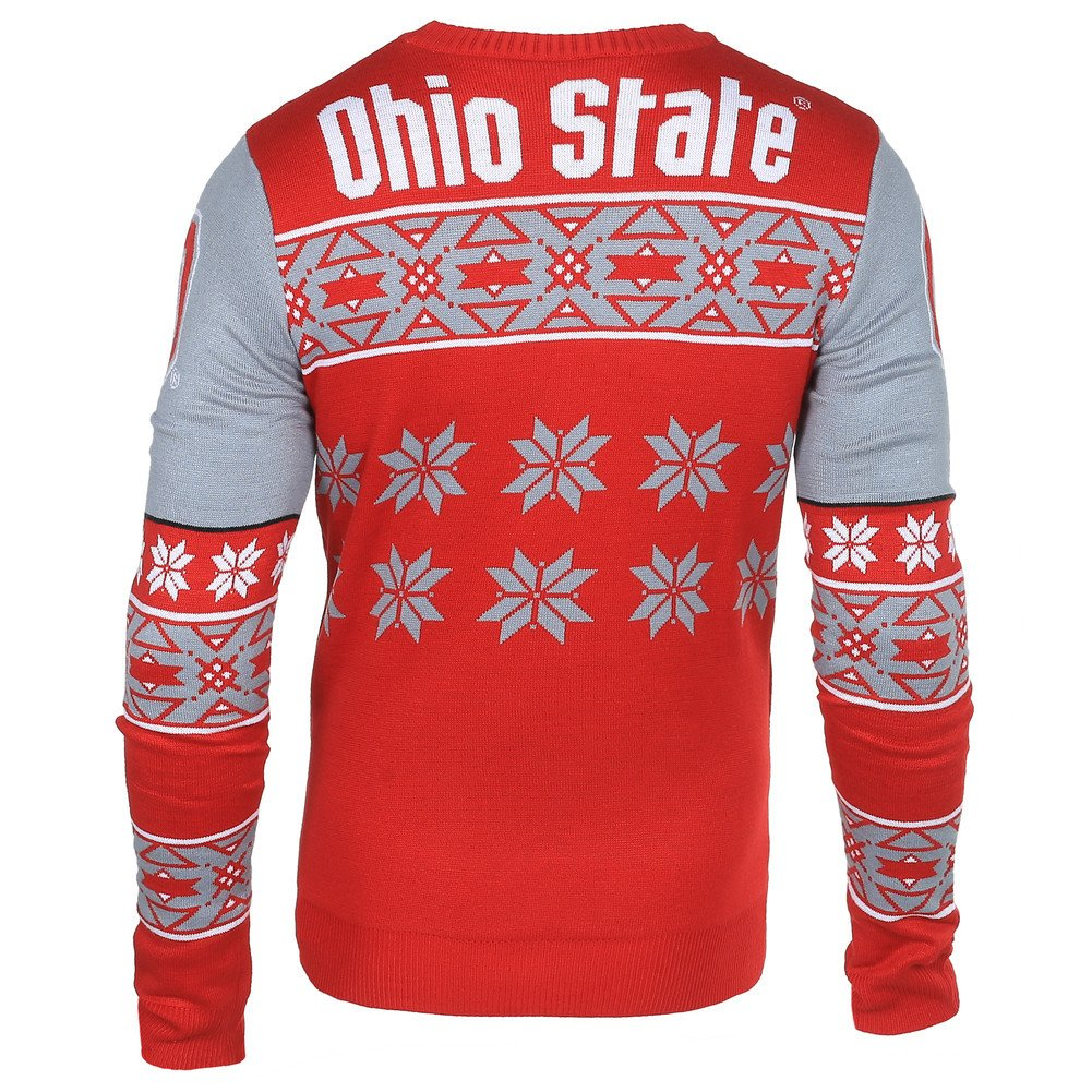 Amazon.com : Elite Fan Shop Ohio State Buckeyes Logo Ugly Christmas ...