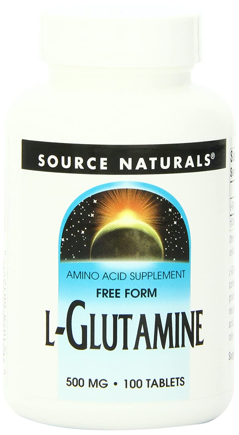 Source Naturals L-Glutamine 500mg, 100 Tablets: Amazon.es: Salud y cuidado personal