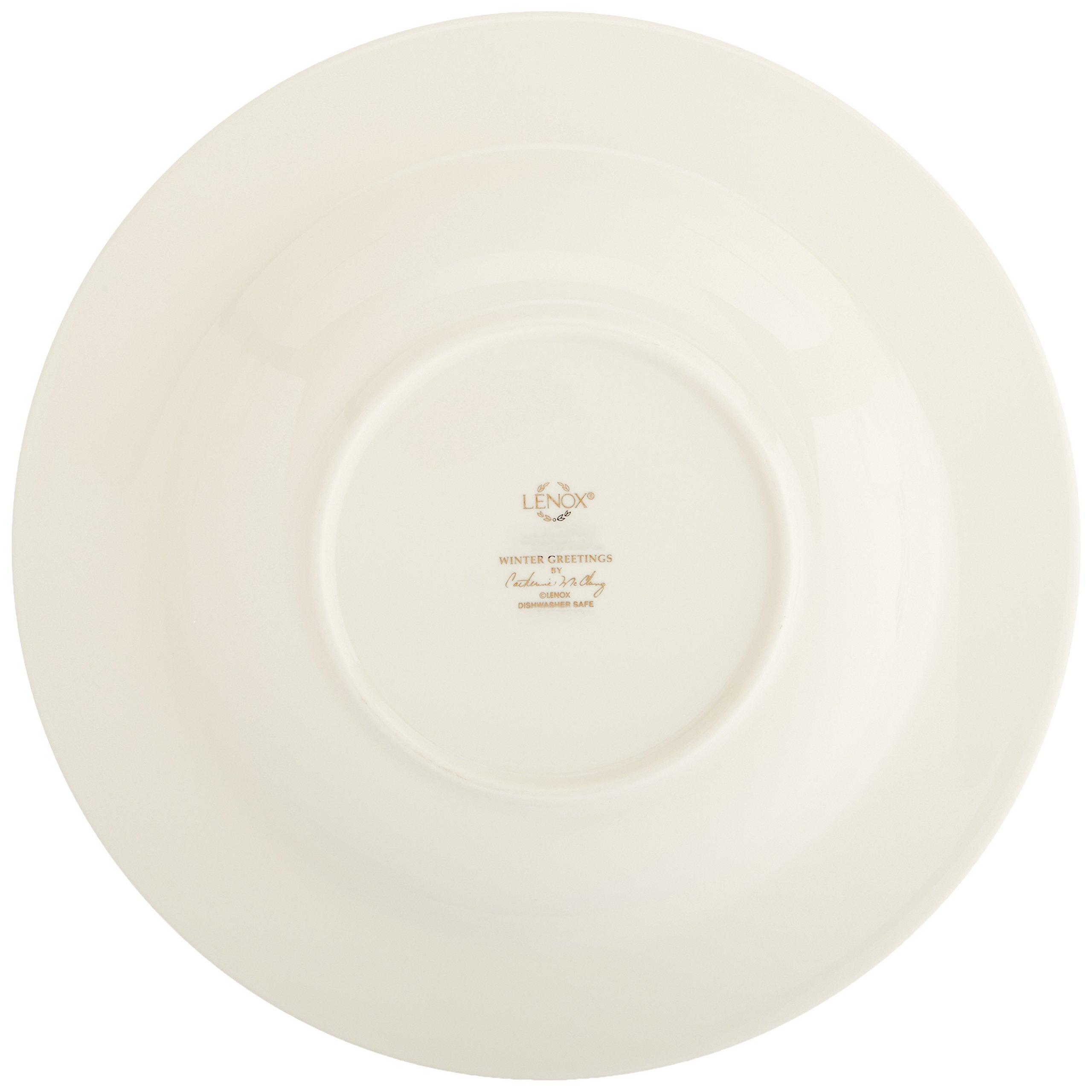 Lenox Winter Greetings Pasta Bowl/ Rim Soup