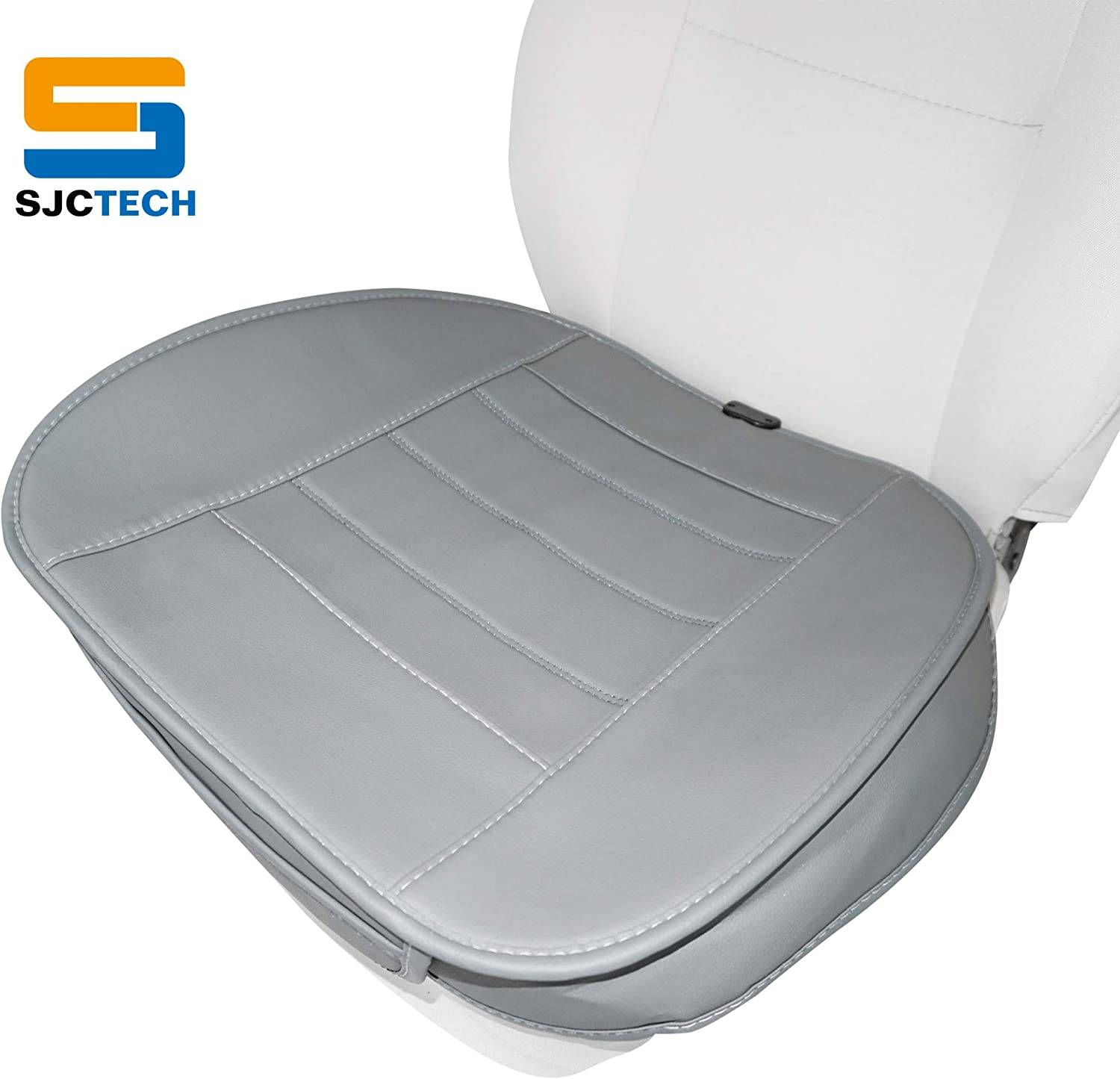 SJC Car Seat Cushion Pad Car Driver Seat Cushion Car Interior Seat Cover Cushion Pad Mat Comfort Seat Protector for Car Office Home Use SJC219R035-US
