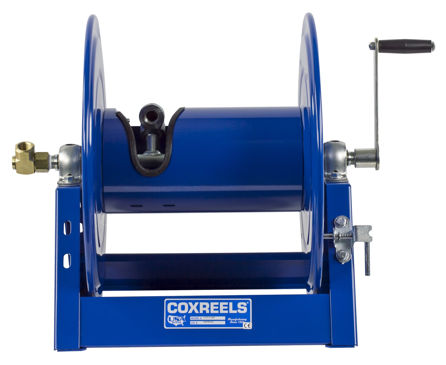 Coxreels 1125-4-100 Steel Hand Crank Hose Reel, 1/2'' Hose I.D., 100' Hose Capacity, 3,000 PSI, without Hose, Made in USA by Coxreels (Image #3)