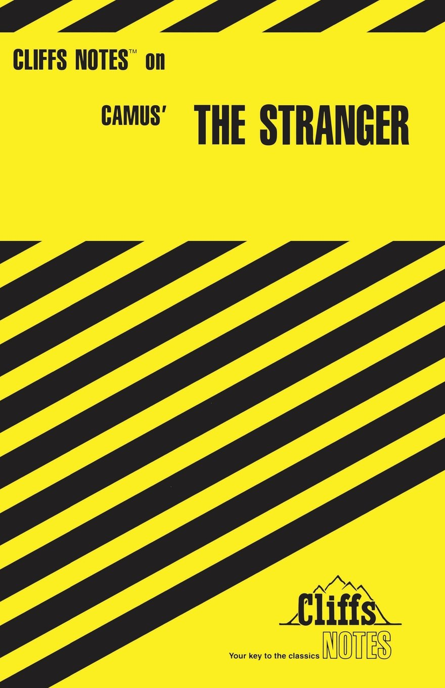 CliffsNotes on Camus\' The Stranger: Amazon.ca: Gary K Carey: Books