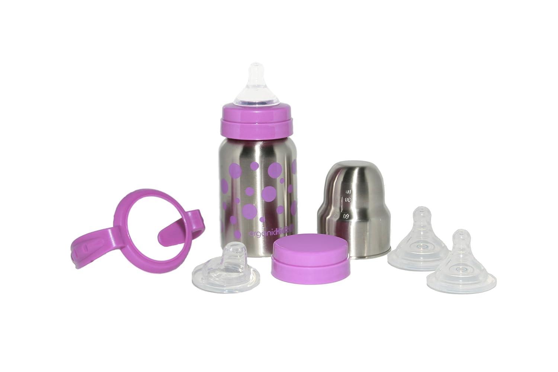 Amazon.com : Bebé crece acero inoxidable botellas conjunto ...