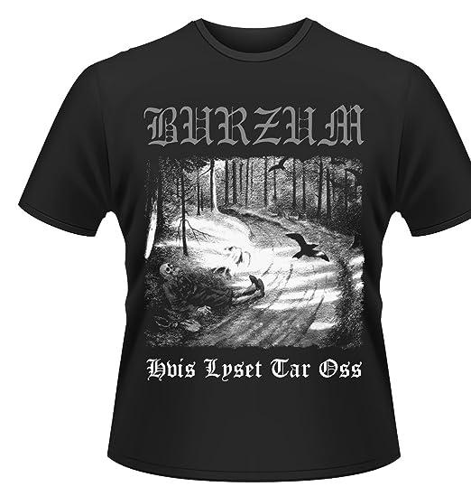 c0c3b816f Burzum T Shirt Hvis Lyset Tar OSS Band Logo Official Mens Black: Amazon.ca:  Clothing & Accessories