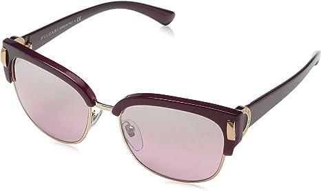 Bulgari 0Bv8189 54267E 55 Gafas de sol, Dorado (Viola/Pink/Pink), Unisex-Adulto