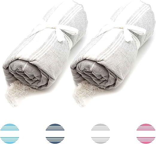 Nicola Spring Toalla de baño - Microfibra de 100 % algodón Turco ...