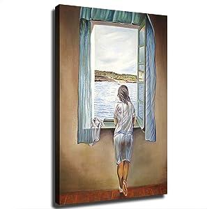 Salvador Dali Poster Picture Art Print Canvas Wall Art Home Living Room Bedroom Decor Mural (20×30inch-No Framed)