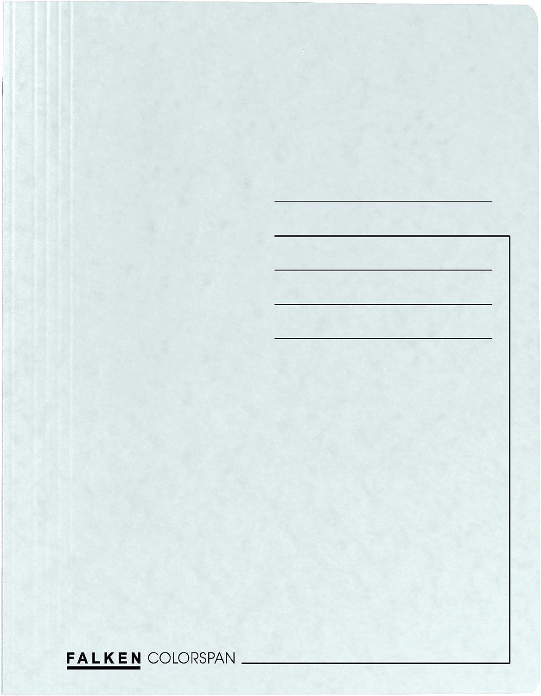 /Cartellina portadocumenti ideale per l ufficio Blau Falken Premium Spiral Cucitrice in cartoncino Colorspan sospesa spesso Extra Blu Cucitrici/