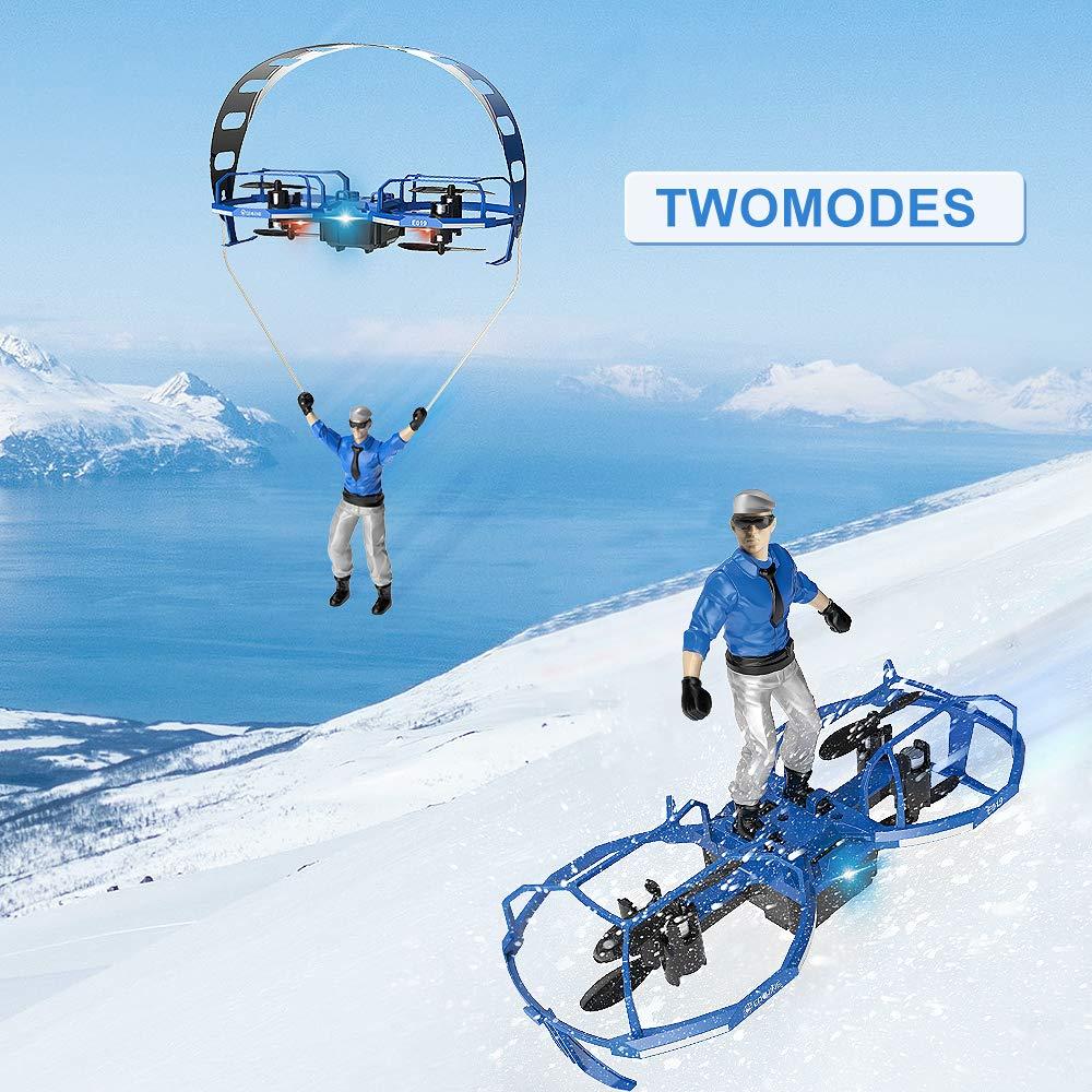EACHINE Mini Quadcopter Drone para Niños y Adultos Principantes ...
