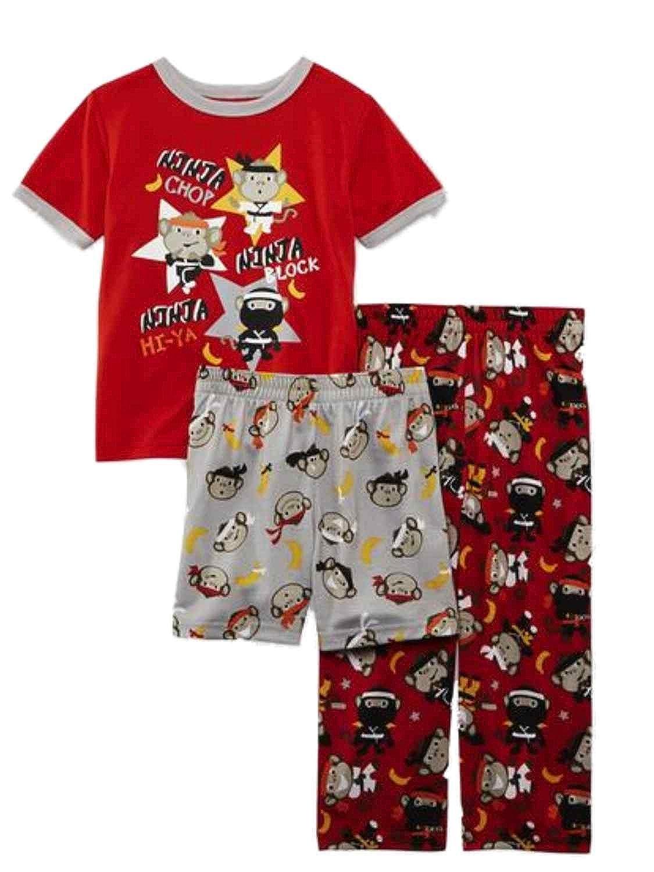 Amazon.com: Joe Boxer Infant & Toddler Boys 3 Piece Ninja ...