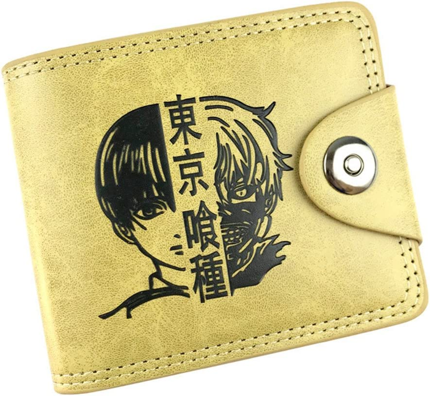 Gumstyle My Hero Academia Anime Cosplay 10 Slots Bifold Wallet Card Holder Purse