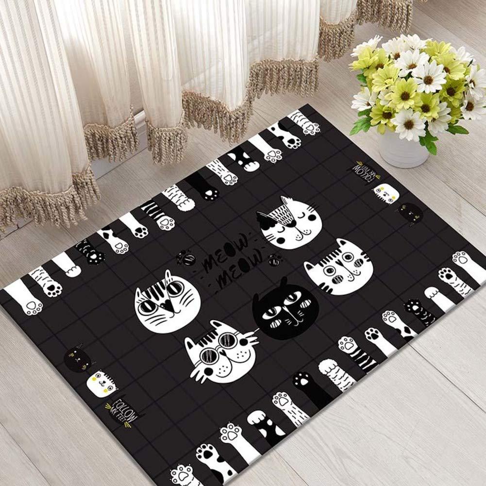 B 60x90cm(24x35inch) Door mat,Entrance Door mats Carpet Door mat Non-Slip mat Floor mat-D 80x120cm(31x47inch)