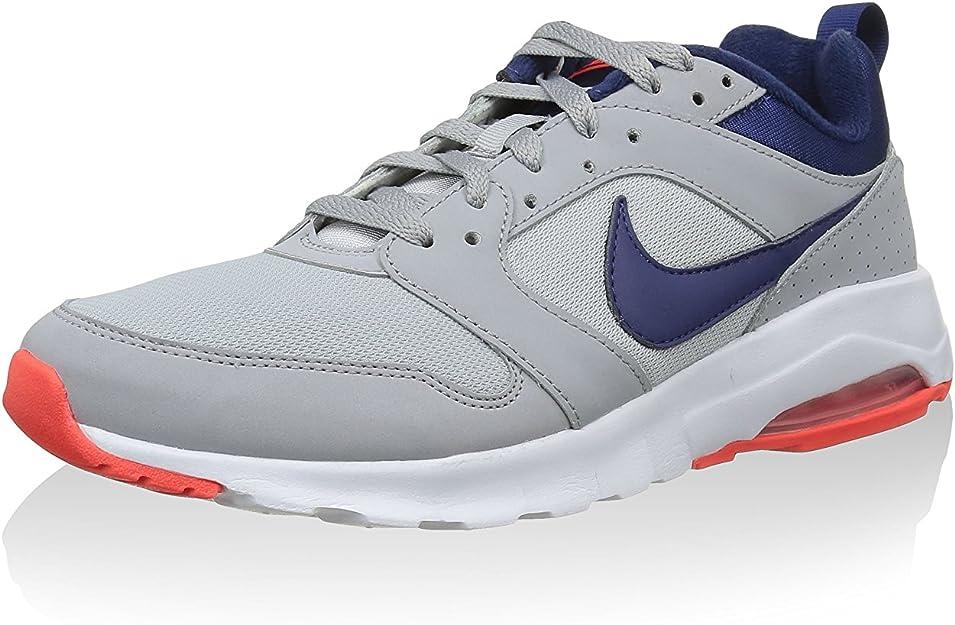cambiar Fuente Preceder  Nike Air MAX Motion, Zapatillas de Running para Hombre, Gris/Azul/Naranja  (Wolf Grey/Lyl Blue-Brght Crmsn), 38.5 EU: Amazon.es: Zapatos y complementos