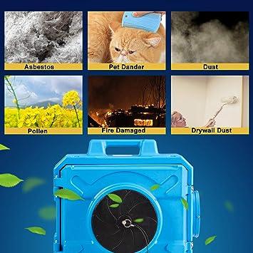 Costwa - Exfoliante de aire industrial comercial, purificador de ...