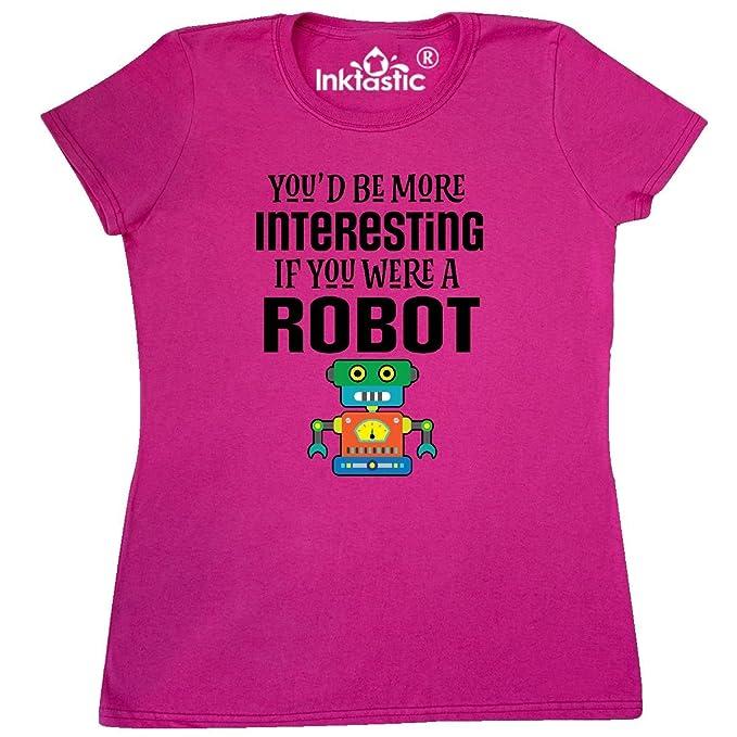 Amazon Com Inktastic Robotics Club Funny Robot Joke Women S T