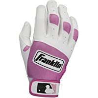 MLB Youth Classic Series Batting Glove Color: White / Pink, Size: Small