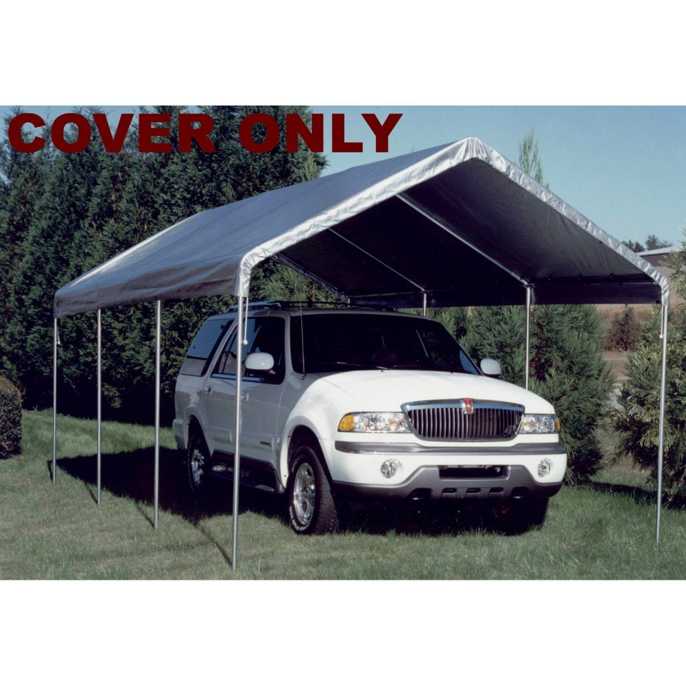 King Canopy Drawstring Cover 10×20 Silver