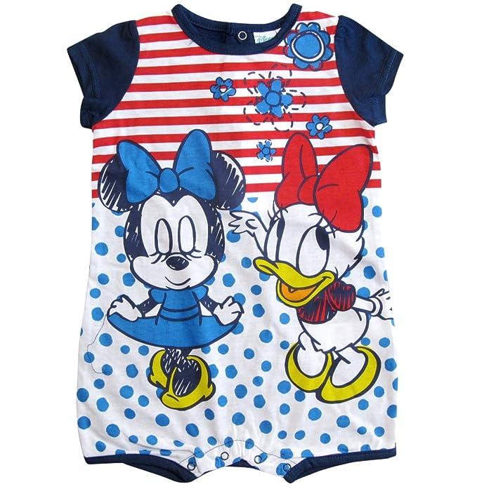 Minnie Mouse - Pantalón de Peto - para bebé Niño Azul 68 cm
