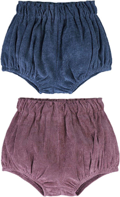 AYIYO Unisex Baby Bloomer Pantalones cortos infantiles con lunares florales sueltos lindos para ni/ños ni/ñas 2pcs