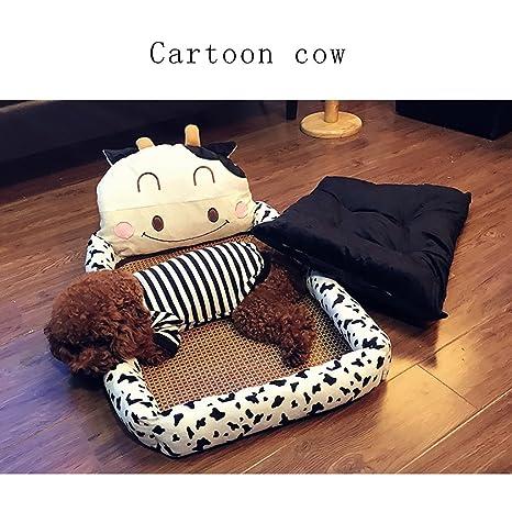 Weng wei shop Suministros para Mascotas Cama para Mascotas Cama para Mascotas se Pueden Limpiar (
