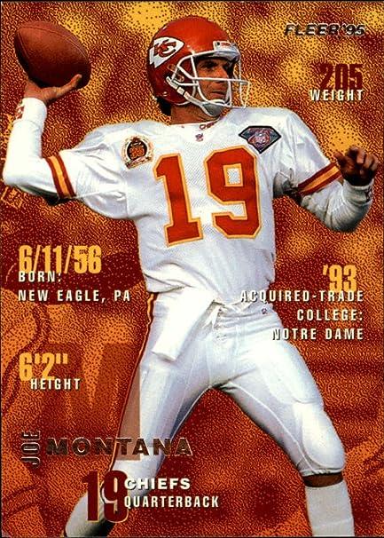 best cheap 19196 55e43 Amazon.com: 1995 Fleer Kansas City Chiefs Team Set 12 Cards ...