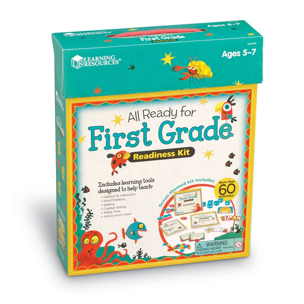 Amazon.com : Learning Resources All Ready for First Grade Readiness ...