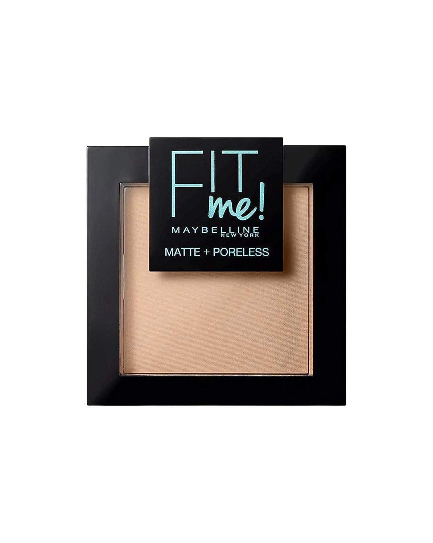 Maybelline Polvos Compactos Matificantes Fit Me (Mate y Sin poros), Tono 130 Buff Beige L'Oreal 3600531384210 cara de