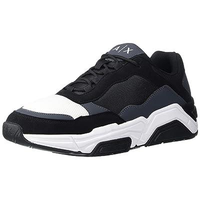 A|X Armani Exchange Men's Lace Up Sneaker: Shoes