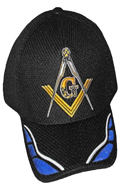 Image Unavailable. Image not available for. Color  Masonic Baseball Cap  Freemason Mason Hat Mens One ... ad05cfb99f79
