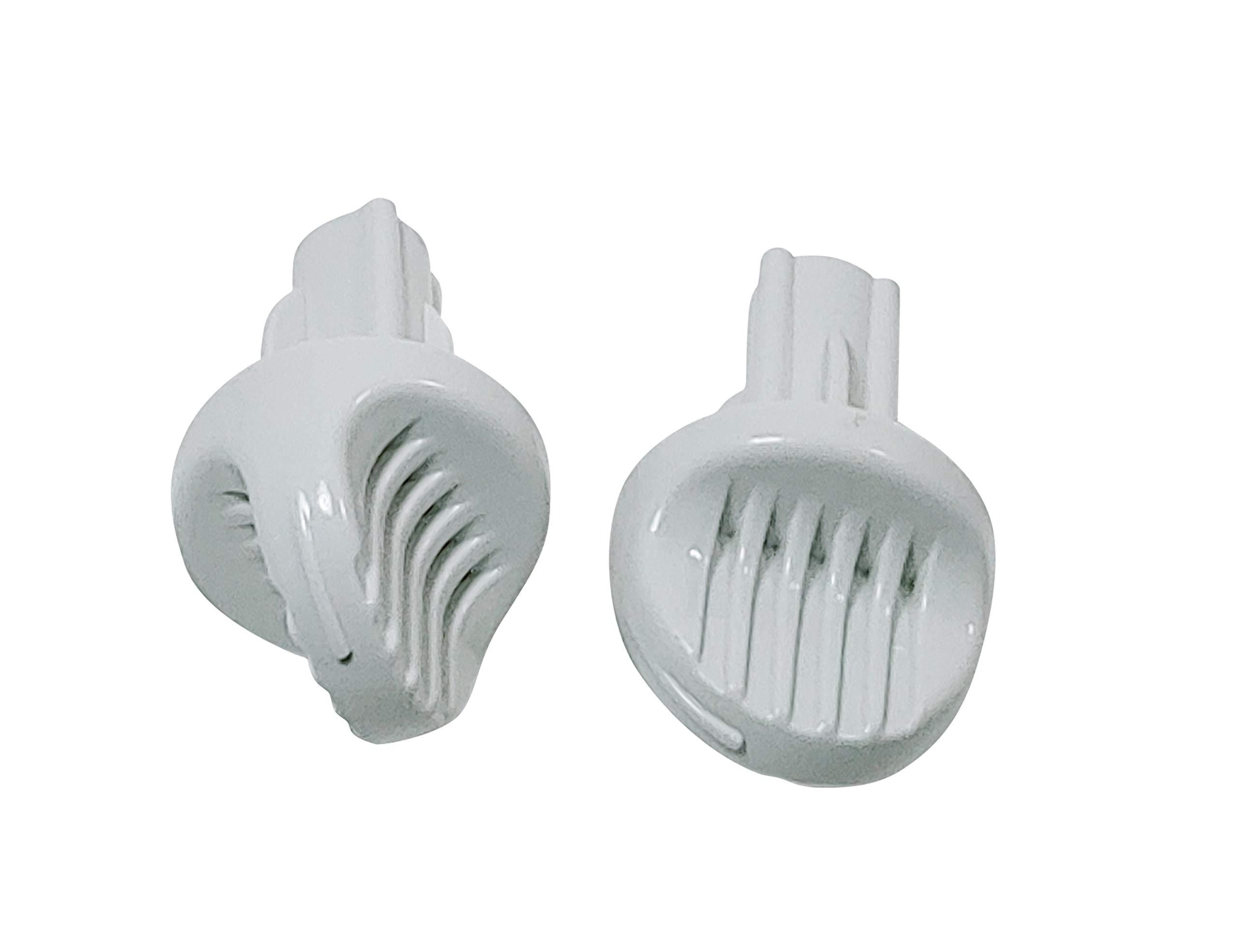 Just4Repair Air Conditioner Control Knob with Spring Metal Insert 201121190001 (2) by Just4Repair