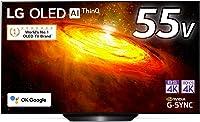 LG 55型 4Kチューナー内蔵 有機EL テレビ OLED 55BXPJA Alexa 搭載 2020 年モデル