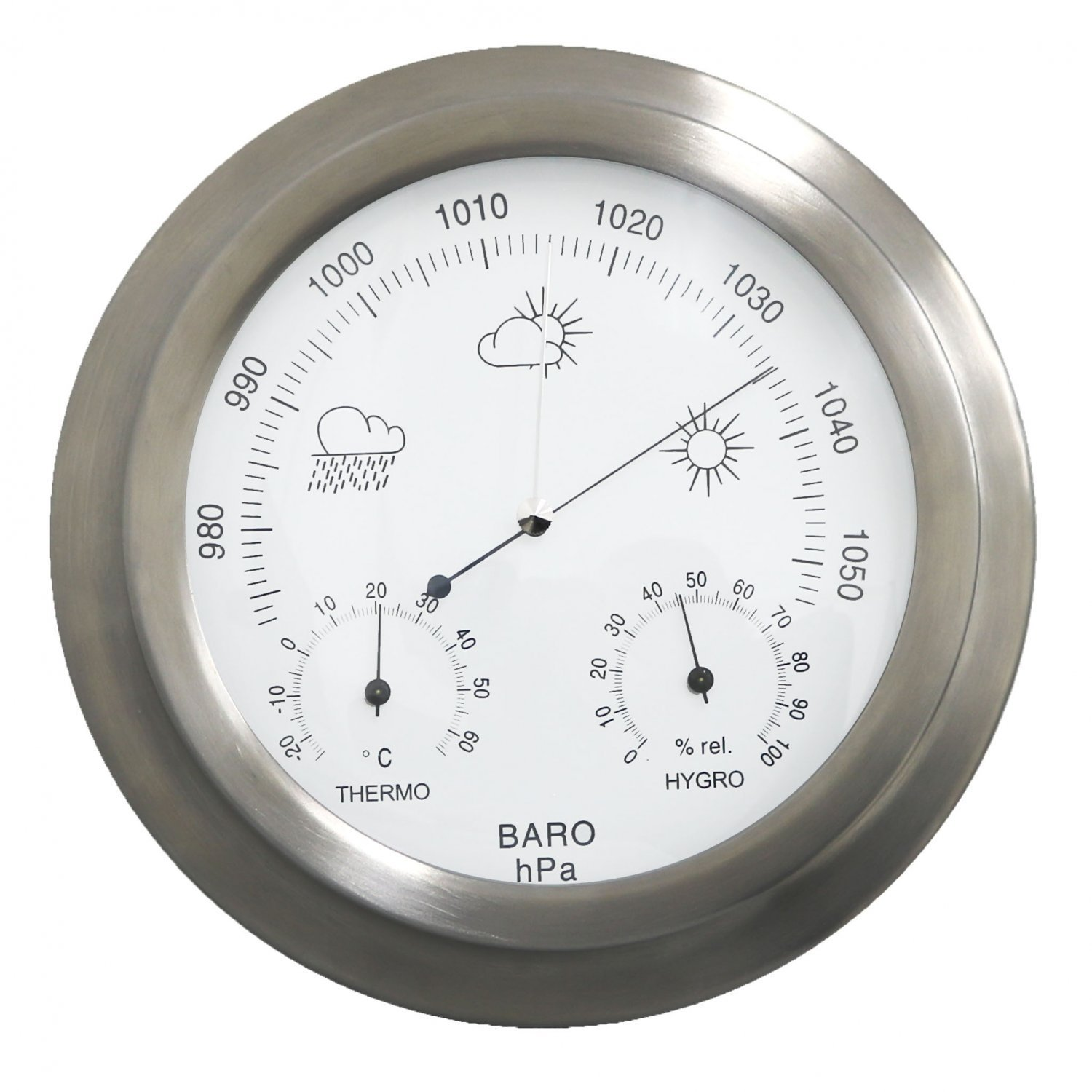How to use the indoor barometer 22