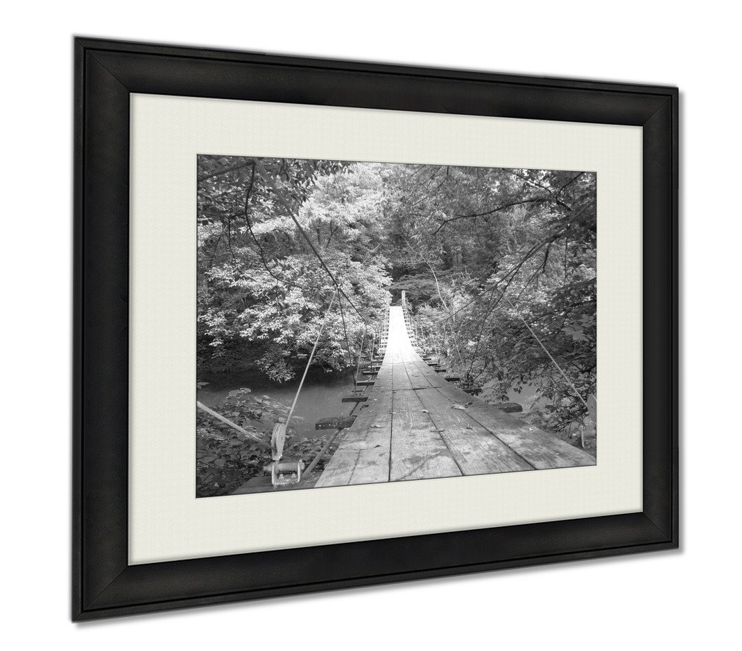 Ashley Framed Prints Princeton Nj, Wall Art Home Decoration, Black/White, 26x30 (frame size), AG6003292