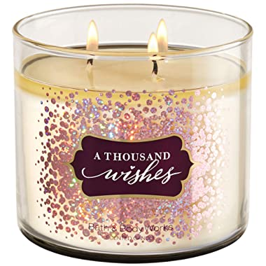 Bath and Body Works A THOUSAND WISHES 3-Wick Candle 14.5 Ounce