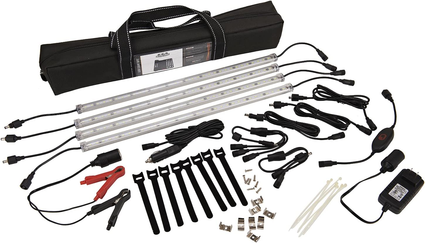 Offroading Gear Waterproof LED Camping Lighting Kit, Portable and for Patio RVs Outdoor Great for Campers
