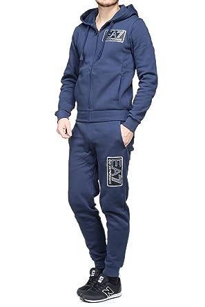 Emporio Armani EA7 Jogging 6zpv57 - Pj07z 1554 Navy Blue  Amazon.fr   Vêtements et accessoires 969c25f3098