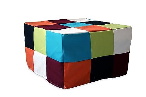 Divano Letto Patchwork : Ponti divani rubik pouf letto singolo con materasso h 10cm di