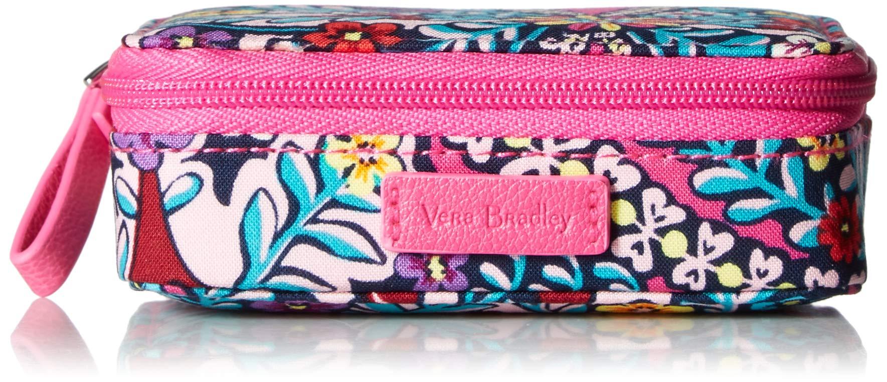 Vera Bradley Iconic Travel Pill Case, Signature Cotton, Kaleidoscope by Vera Bradley