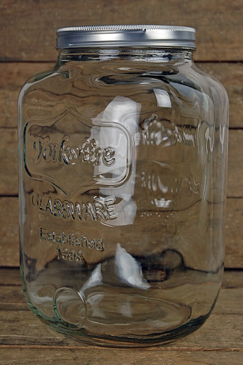Richland Two Gallon Yorkshire Glassware Mason Jar by Richland